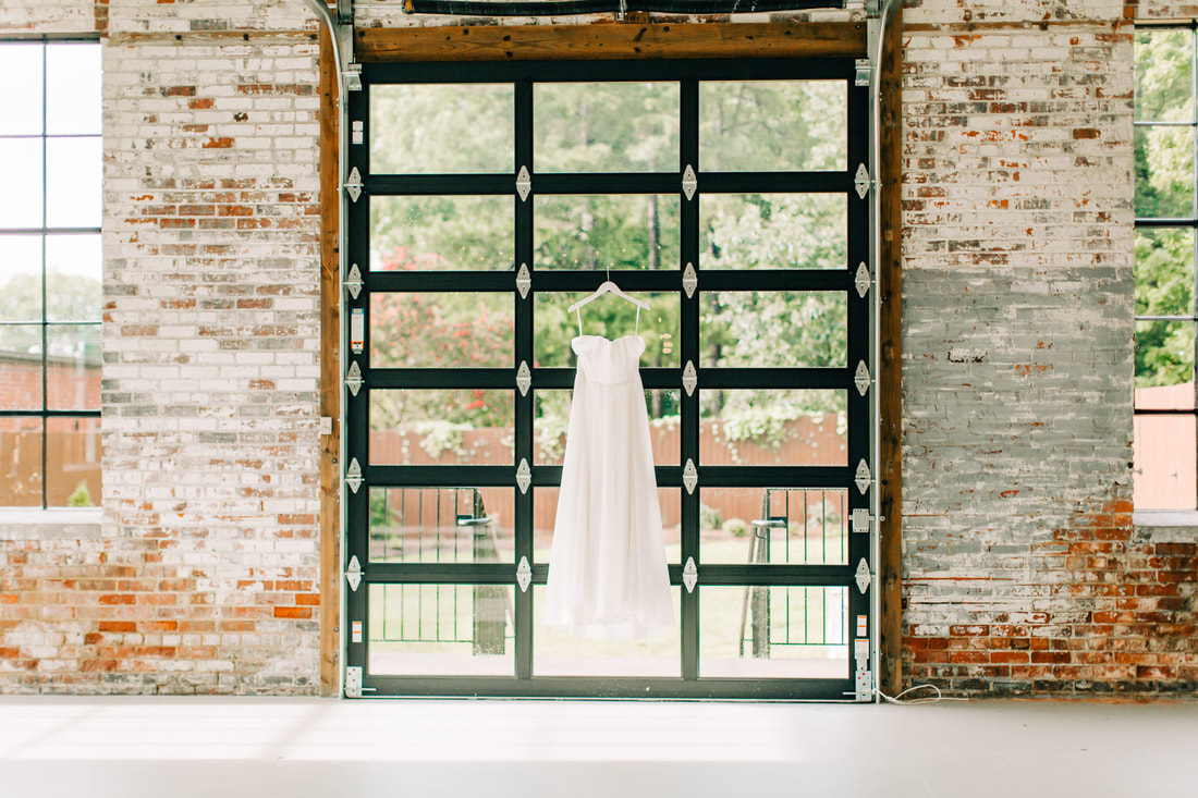 Wedding Dress in The Graham Mill, NC