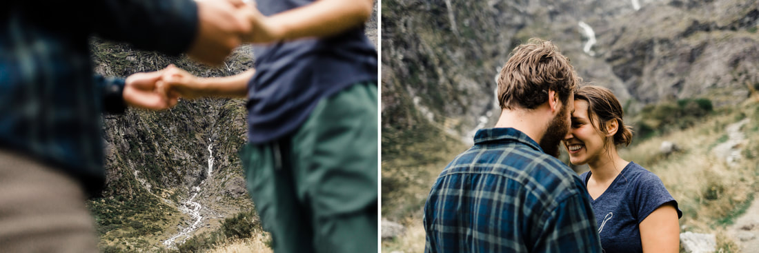 Miami wedding photographer & Raleigh wedding photographer travels to New Zealand engagement session
