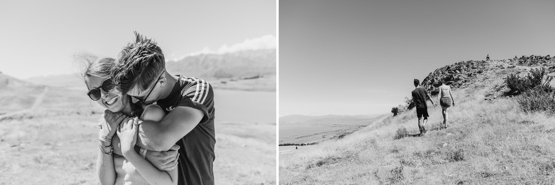 Mount Cook, New Zealand Engagement - Miami Wedding Photographer