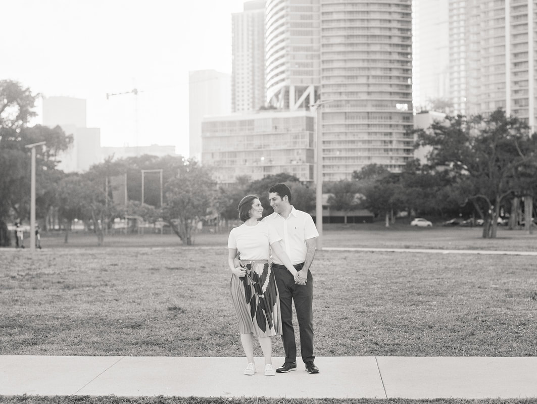 Raleigh Film Wedding Photographer in Mattheson Hammock Park in Miami Florida | Hybrid Photographer at South Pointe Park