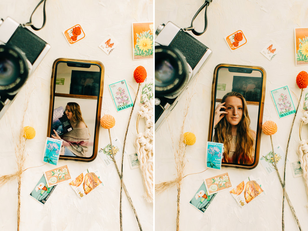 How to shoot FaceTime portraits - Raleigh wedding photographer - Miami wedding photographer